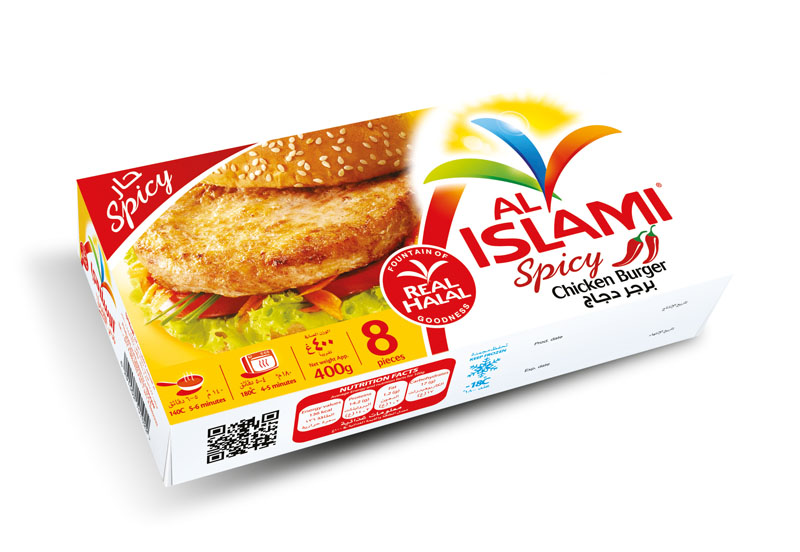 Chicken Burger Hot & Spicy 400g Image