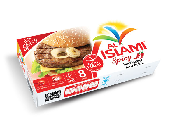 Beef Burger Box - Hot & Spicy 400g Image